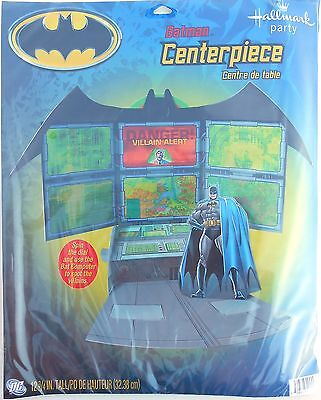 Party Centerpiece BATMAN Stand-Up Birthday Decoration Supplies Hallmark - Batman Centerpieces