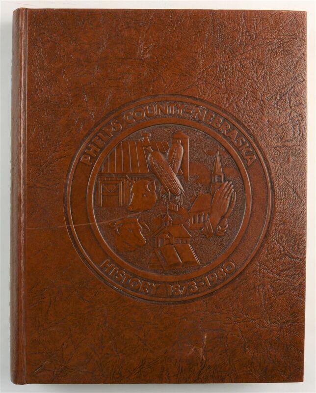 Phelps County Nebraska Holdrege Atlanta Bertrand Funk Loomis Family History Book