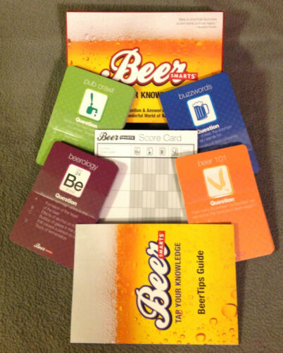 BEER SMARTS -QUESTION AND ANSWER GAME -TAP YOUR KNOWLEDGE -Smartsco