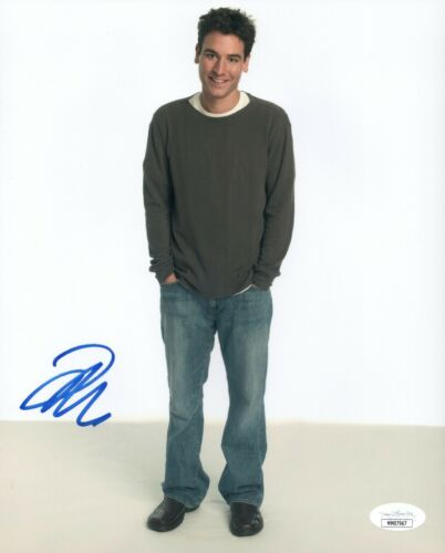 JOSH RADNOR Signed HOW I MET YOUR MOTHER 8x10 Photo Autograph JSA COA