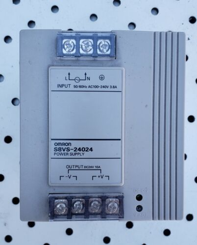 Omron S8VS-24024 100-240V 3.8A Power Supply