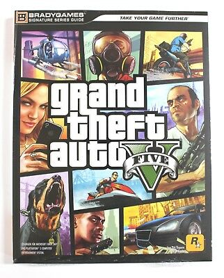 Grand Theft Auto V Das offizielle Lösungsbuch Buch New