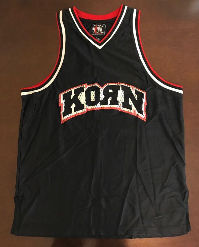 Rare Vintage Korn Life Is Peachy Basketball Jersey