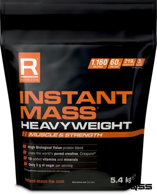 REFLEX NUTRITION INSTANT MASS HEAVYWEIGHT 5.4KG MUSCLE GAINER PROTEIN SHAKE