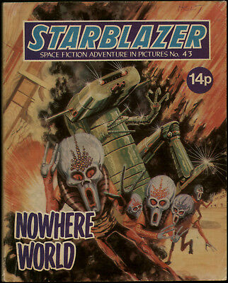 NOWHERE WORLD,STARBLAZER SPACE FICTION ADVENTURE IN PICTURES,NO.43,1981