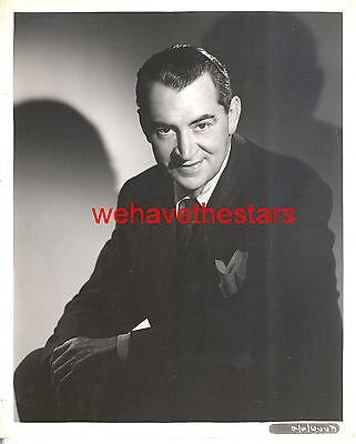 Vintage Charles LeMaire 20th CENTURY FOX FASHION DESIGNER 40s Publicity Portrait
