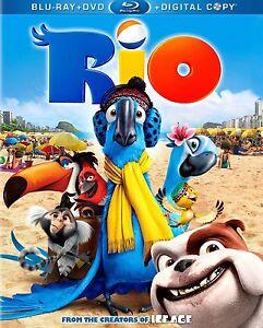 'RIO' en français, Blu-ray
