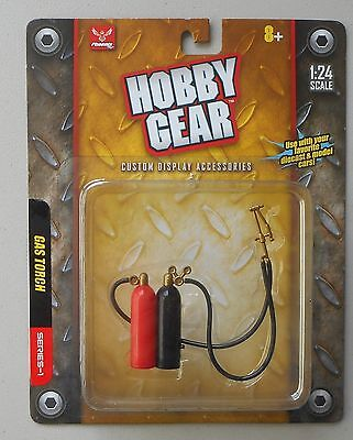 GAS TORCH 1:24 Scale Diecast GARAGE Diorama ACCESSORY HOBBY GEAR