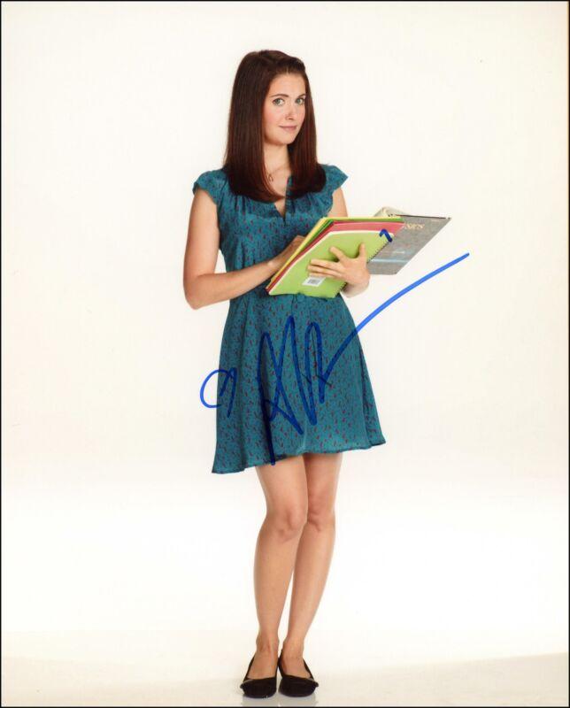"""Alison Brie """"Community"""" AUTOGRAPH Signed 8x10 Photo ACOA"""