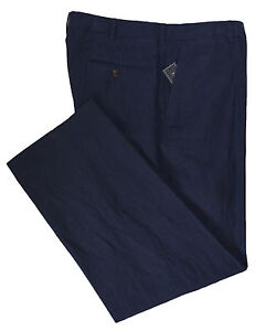 Polo Ralph Lauren Men's Linen Silk Casual / Dress Preston Flat Front Pants
