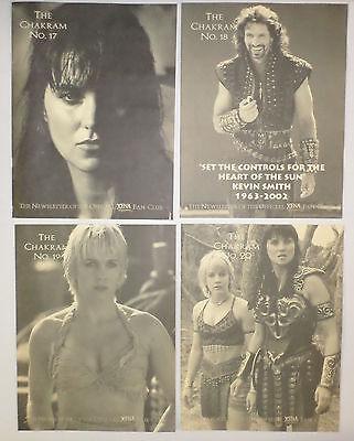 Xena Warrior Princess - Fan Club Kit #5 - Chakram Newsletters 17-20 Photos