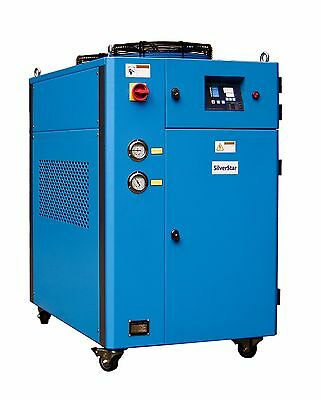 SKYLINE Brand New 10 Ton Portable Air Cooled Chiller SAC-10 460v/480v
