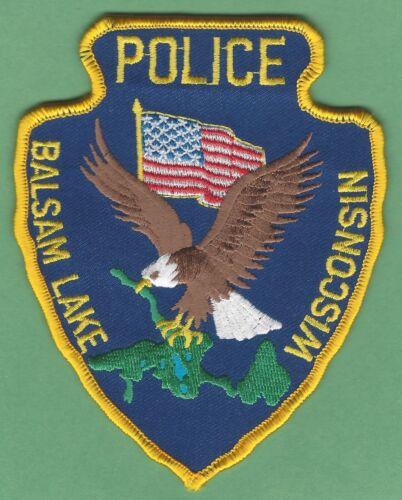 BALSAM LAKE WISCONSIN POLICE SHOULDER PATCH