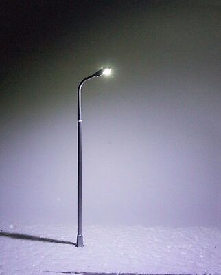 5 LED Straßenlampen H0 für Modellbau 12V