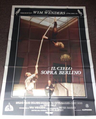 Wings Desire Original 1987 Movie Poster Wenders Wim Ganz Bruno Berlin Rare Art