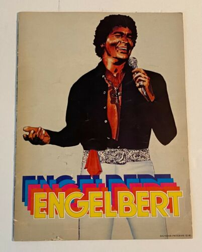 ENGELBERT HUMPERDINCK 1978 Souvenir Program Book 20 Pages Career & Pictures