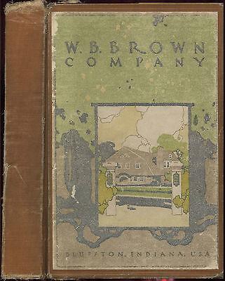 1912 W.B. BROWN CATALOG DVD WOOD LAMP LIGHT FIXTURE LEADED GLASS ARTS & CRAFTS