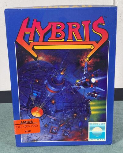 Computer Games - Commodore Amiga Hybris PC Computer Video Game w/ Manual & Box