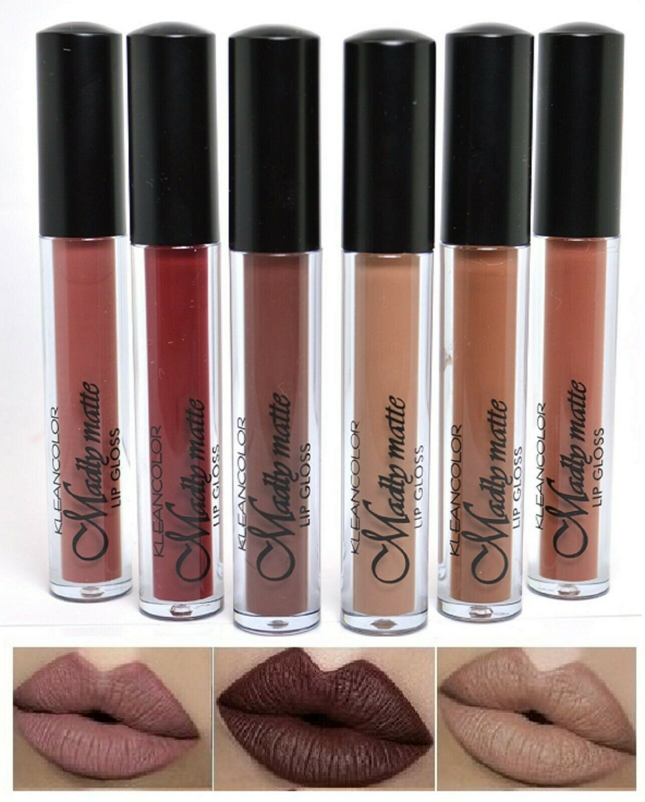 6 NEW Waterproof Long Lasting Makeup Lip Liquid Matte Lipsti