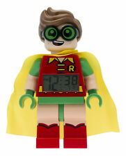 Lego Batman Movie Robin Minifigure Childrens Alarm Clock