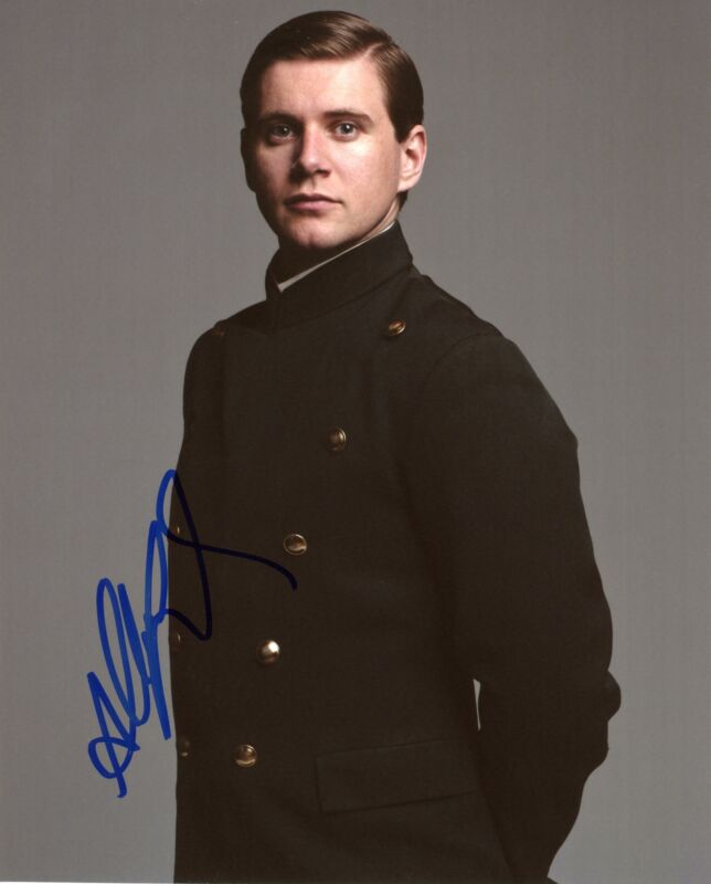"Allen Leech ""Downton Abbey"" AUTOGRAPH Signed 'Tom Branson' 8x10 Photo"