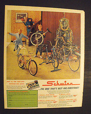1967 Schwinn Sting-Ray~Unicycle~Exerciser Bicycles Vintage Kids Boys Bike Toy Ad