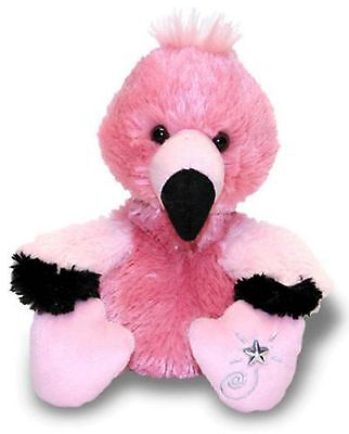 Russ Berrie Shining Stars Pink Flamingo Plush Super Soft With All Tags