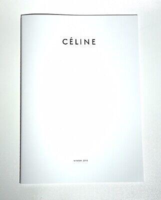 CELINE Winter 2018 Lookbook Fashion Catalog Magazine Book