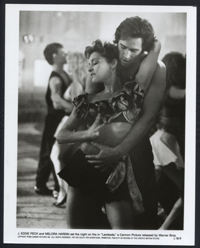 Lambada '90 J EDDIE PECK MELORA HARDIN DANCING RARE