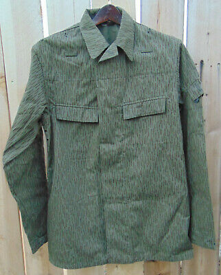 - 1960's East German Rain Camo Jacket U.S.Size Large/Reg,very good used condition