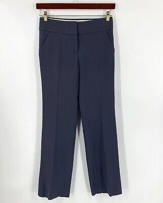 J Crew Wool Dress Pants Gray Size 0 Trousers Favorite Fit Womens