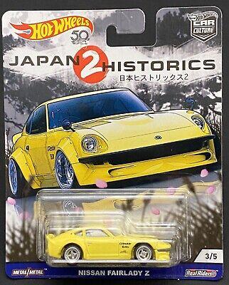 Hot Wheels 2018 Car Culture Real Rid Japan Historics 2 Nissan Fairlady Z #3/5