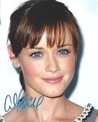 Alexis Bledel Signed 8X10 Photo   Exact Proof   Rory Gilmore Gilmore Girls
