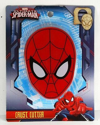 Spider-Man Crust Cutter Marvel Brand New School Lunch Box Sandwich Bread