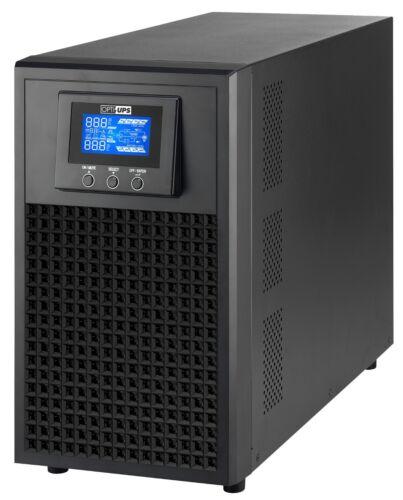 DURABLE DS2000E (2000VA/2000W) Online Double Conversion Sinewave UPS 8 Outlets