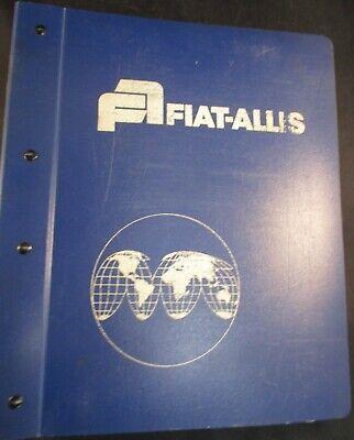 Fiat-allis 10b Crawler Dozer Parts Manual