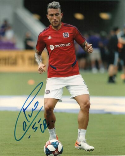 Chicago Fire Francisco Calvo Autographed Signed MLS 8x10 COA #2