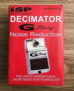 Decimated G String Noise Reduction