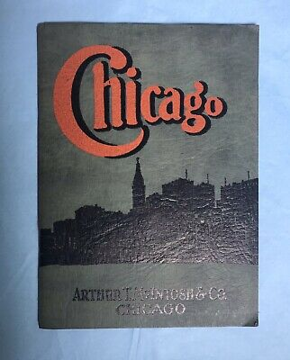 arthur t macintosh & co book 1921 CHICAGO Real Estate (geo renneker printer)
