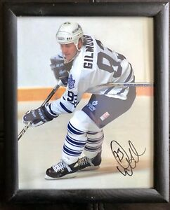 Autographed Photo of Doug Gilmour