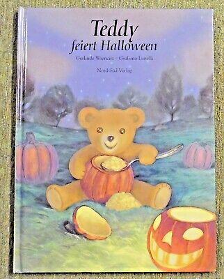 Teddy feiert Halloween , Bilderbuch , G. Wiencirz , Nord-Sued Verlag , HC , 2001