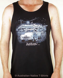 Just-Cruisin-Mens-Singlet-Holden-Ute-Aussie-Design-S-M-L-XL-XXL-NEW