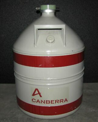 Canberra Liquid Nitrogen Tank Ln2 Dewar - 30 Liter  B17