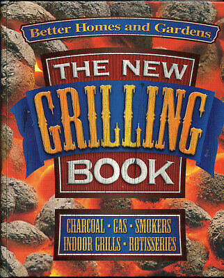 Better Homes & Garden NEW GRILLING BOOK Charcoal Gas Smokers BBQ 5 Ring