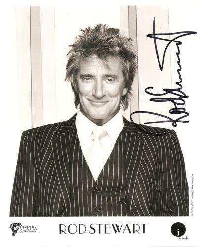 Rod Stewart 8.5x11 Signed Autograph RP [Mint]