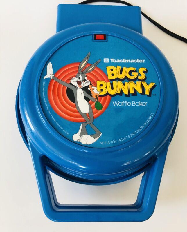 Vintage Toastmaster Bugs Bunny Waffle Maker  Baker 1991 Looney Tunes