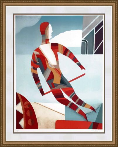 """Max Papart """"magic Man"""" 1985   Large Hand Signed Print   Others Avail   Gallart"""