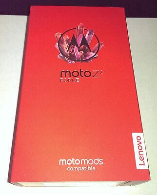 BRAND NEW MOTOROLA MOTO Z2 FORCE XT1789-01 VERIZON BLACK 64GB FACTORY UNLOCKED