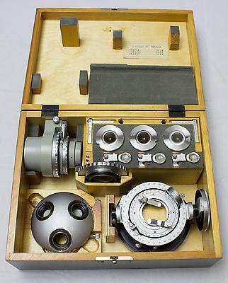 Universal Stage Fedorov For Polarizing Pol Microscope Aus Jena Ausjena