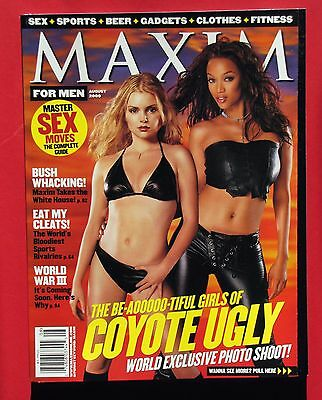 Maxim  32   August 2000   Coyote Ugly  Tyra Banks  Moynahan   Mint   Magazine